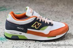 Men And Women New Balance 1500 New Balance 1500 Limited White/Orange|only US$75.00 - follow me to pick up couopons.