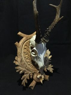 "2016-10-30 ""Hunting Trophy"" 30x23 lime wood by Jan Valko"