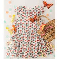 Une robe pour fillette aux couleurs acidulées - Marie Claire Idées