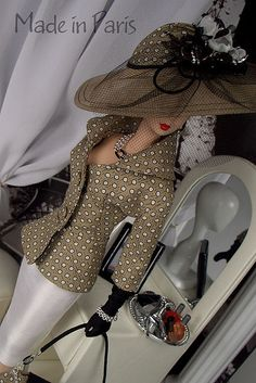 """Voilà"" Fashion Outfit by MADEinPARIS, via Flickr"