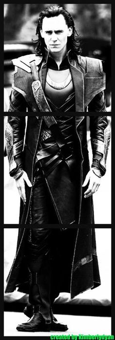 Tom Hiddleston ~ created by Kimberlydyan