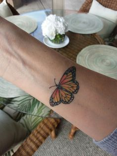 My Monarch tattoo! I raise them and needed to have this body art!