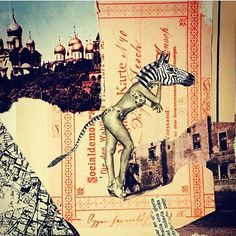 By @sinache_gracias See more in http://ift.tt/18fiLHV  #losdiascontados #diacolas #collageoftheday #collageart #collageonpaper #collagework #collagem #collageartistoninstagram #cortaecola #cortapega #collageartwork #collage_creatives #collageartists #contemporarycollage #collageproject #collagesofinstagram #fabacollagemag #collagecollectiveco by los.dias.contados