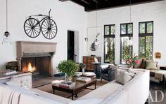 Sheryl Crow's Hollywood House-liv rm-