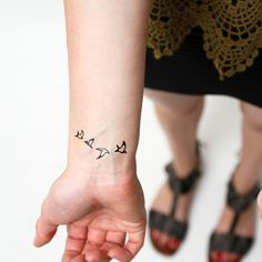 Double Date animals temporary tattoos http://tattify.com/product/double-date/