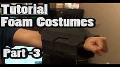 TUTORIAL - Using Templates With Foam - Part 3 - Using PEPAKURA for FOAM Costume Building Resources, Tools, and Materials for your Pepakura at www.PepakuraPros.com.