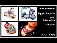 Creations Update | Zipper Soutache ! | Bead Embroidery | Soutache | Sutasz