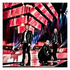 Muse on 2nd law tour :')