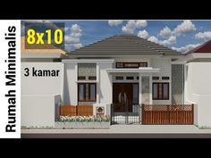 Animasi Construction Rumah 8x10 - YouTube Hip Roof Design, House Design, Galaxy Wallpaper, Home Fashion, Construction, Outdoor Decor, House Styles, Modern, Youtube