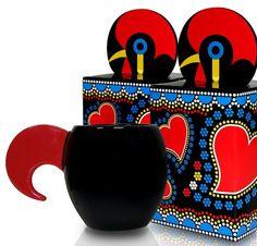 Fénix Design: Galo de Barcelos: do clássico ao moderno! Versão chávena e açucareiro./Version cup and sugar bowl.