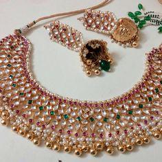 Unique Jadtar jewellery