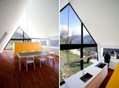 Modern Design: House at the Pyrenees by Cadaval and Solà-Morales