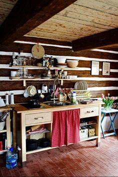 Escapadas de verano: Cocinas acogedora cabaña | Kitchn