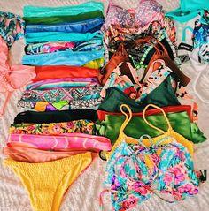 Shop stylish women's swimwear at FABKINI & find tankinis, bikinis, one-piece swimsuits, monokinis & more. Summer Bathing Suits, Bathing Suit Covers, Cute Bathing Suits, Cute Bikinis, Cute Swimsuits, Summer Bikinis, Swimming Costume, The Bikini, Bikini Fashion