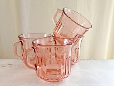 Vintage Fortecrisa Mexico Depression Glass by TheVelvetRooster