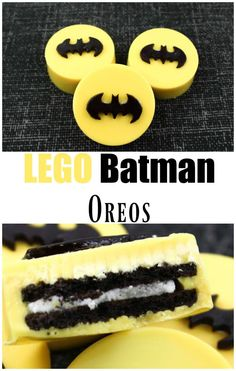 Looking for a fun and easy dessert for the new LEGO batman movie? Well these LEGO Batman Movie Oreos are fun and easy to make and taste delicious! Kid and adult friendly!