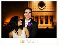 CASA MONICA, Florida, St.Augustine, groom, purple flower, bride, wedding dress, wedding, wedding photography, Limelight Photography, www.stepintothelimelight.com