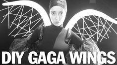 DIY Wings, Drum Line Harness, Lady Gaga Applause, ThreadBanger Tutorial