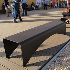 PAPER is a street furniture bench, made in Italy, of collection characterized by a modern style and materials of great quality. The bench in steel suits both external and internal environments, and has been designed by Hangar Design Group. Bench Furniture, Urban Furniture, Street Furniture, Funky Furniture, Industrial Furniture, Garden Furniture, Furniture Design, Concrete Furniture, Steel Image