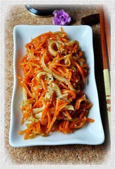 Закуска из моркови с кальмарами : Простые рецепты для вкусной жизни