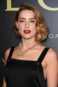 Amber Heard – Bulgari Haute Couture Cocktail Party in Paris, July 2015