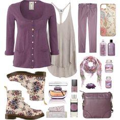 """Spring Lilacs"" by helen-shesterneva on Polyvore"