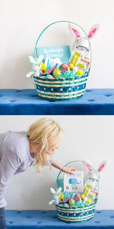 @em_henderson shares tips for a last-minute Easter basket for your baby! Everything you need can be found at Target. Hop to it! http://stylebyemilyhenderson.com/blog/happy-easter-basket/