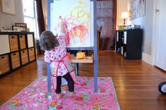 10 Steps For Easy Indoor Easel Painting