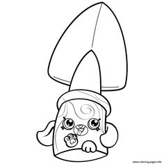 petkins shopkins coloring pages - photo#26