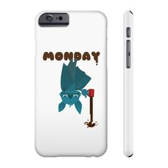 Having a Bat Day - Phone cases Coffee Lover Gifts, Coffee Lovers, Flexibility, Unique Gifts, Cool Designs, Surface, Strong, Plastic, Slim