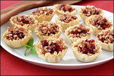 Cranberry & cheese bites