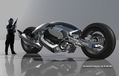 Concept cars and trucks: Concept bike by Mark Yang