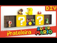DIY Mario Shelves | Nerdy Crafts Ep.7 - YouTube