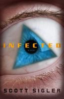 Infected by Scott Sigler (Adult Fiction). CIA operative Dew Phillips, working together with CDC epidemiologist Margaret Montoya, race to stop the spread of a mysterious disease that is turning ordinary people into murderers. A former football player who has become infected with the deadly bioengineered parasite may carry the cure.