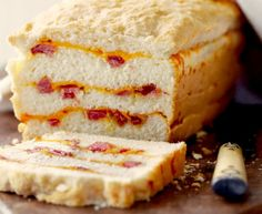 Country Ham and Cheese Biscuit Bread Recipe #FoodRepublic