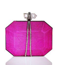 Fuchsia pink Marchesa #Handbag
