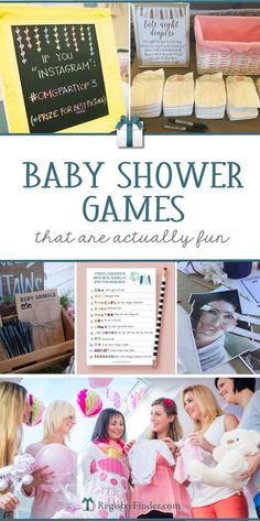 Baby Shower Games that are Actually Fun   Coed Baby Showers