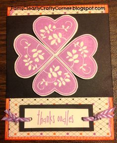 Pam's Clearly Crafty Corner: FAMILY IS FOREVER - September Stamp of the Month Blog Hop