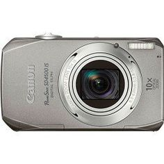 $130.00 Canon PowerShot SD4500IS 10 MP Digital Camera with 10x Optical Image Stabilized Zoom and 3.0-Inch LCD, Silver by Canon, http://www.amazon.com/dp/B00466PH2K/ref=cm_sw_r_pi_dp_gOCGqb0SEHFN4