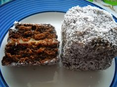 Laws of the Kitchen: Re-Inventing the Lamington 2011 - Chocolate Caramel Lamingtons
