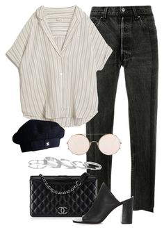 """Untitled #2510"" by annielizjung ❤ liked on Polyvore featuring Vetements, MASSCOB, Chanel, 1.State, Sunday Somewhere and Kendra Scott"
