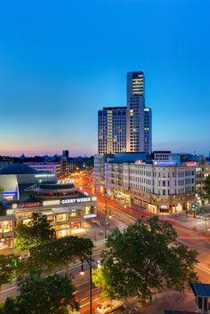 ღღ Berlin, Germany ~~~ City-West .. Where Tauenzienstrasse becomes Kurfürstendamm ...