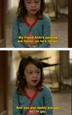 Lily's gay :D Cutest! ~ Modern Family Quotes ~ #modernfamily #modernfamilyquotes