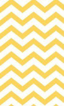 Amazon.com: 4 X 6 Yellow and White Chevron Rug By Blvd67: Home & Kitchen