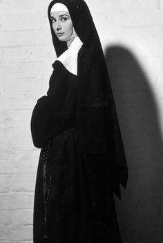 The Nun's Story, Audrey Hepburn, 1959 Audrey Hepburn Poster, Audrey Hepburn Born, Audrey Hepburn Photos, The Nun's Story, Bride Of Christ, My Fair Lady, British Actresses, Mother Mary, Golden Age Of Hollywood