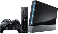 BLACK Wii (ComesWithEverything) full package at a grate price.. and good condition.. dont miss out :)