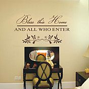 Bless this Home And All Who Enter Words Wall ... – USD $ 34.99