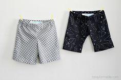 DIY Boy Shorts