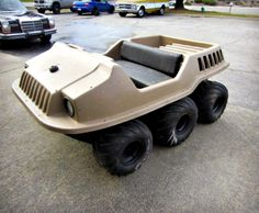 Max II 6x6 Amphibious ATV on GovLiquidation. This is a fun outdoor toy!