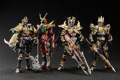 Super Imaginative Chogokin Kamen Rider Garren King Form Revealed - Tokunation